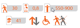 Sweeper-S Speed Gate Spec Icons