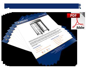 Full Height Glass Turnstile data sheet