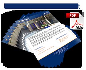 Jetpan Speed Lane Turnstile data sheet